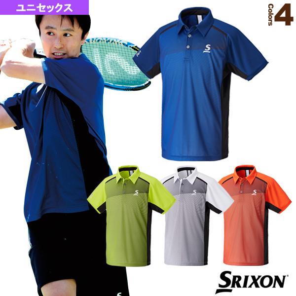 ポロシャツ/ユニセックス(SDP-1743)《スリクソン テニス・バドミントン ウェア(メンズ/ユニ)》テニスウェア男性用