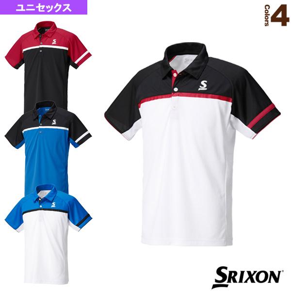 ポロシャツ/ユニセックス(SDP-1744)《スリクソン テニス・バドミントン ウェア(メンズ/ユニ)》テニスウェア男性用