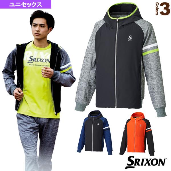 ハイブリッドジャケット/ユニセックス(SDW-4741)《スリクソン テニス・バドミントン ウェア(メンズ/ユニ)》テニスウェア男性用