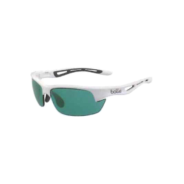 BOLT S/ホワイト/コンペティビジョンガン(エメラルドグリーン)(UD-BOLLE12012)《bolle テニス アクセサリ・小物》