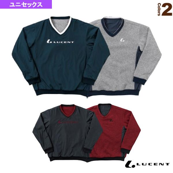 Uni リバーシブルトレーナー/ユニセックス(XLT-519)《ルーセント テニス・バドミントン ウェア(メンズ/ユニ)》