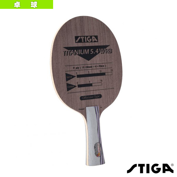TITANIUM 5.4 WRB/チタニウム 5.4 WRB/FLA(2091-35)《スティガ 卓球 ラケット》