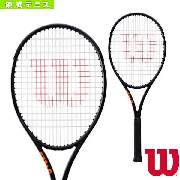 好きに BURN 100S 100S 100S CV BLACK BURN EDITION/バーン 100S CV ブラックエディション(WRT740820)《ウィルソン テニス ラケット》硬式テニスラケット硬式ラケット, HOMES interior/gift:252f91d3 --- slope-antenna.xyz