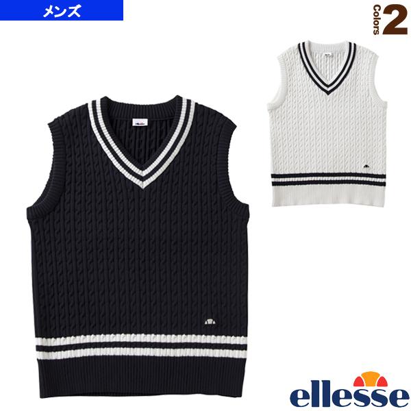 クラブチルデンベスト/Club Tilden Vest/メンズ(EM78100)《エレッセ テニス・バドミントン ウェア(メンズ/ユニ)》