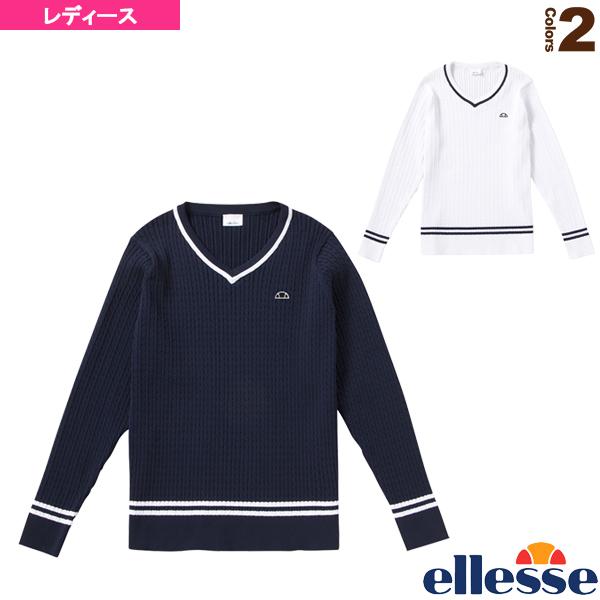 クラブチルデンセーター/Club Tilden Sweater/レディース(EW78100)《エレッセ テニス・バドミントン ウェア(レディース)》