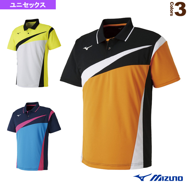 ゲームシャツ/ユニセックス(62JA8103)《ミズノ テニス・バドミントン ウェア(メンズ/ユニ)》
