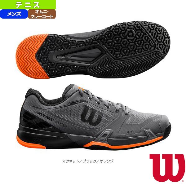 新品本物 RUSH PRO テニス 2.5 OC/ラッシュプロ 2.5/メンズ(WRS324330)《ウィルソン RUSH テニス PRO シューズ》オムニ用クレー用オムニ、クレー用, 岩瀬村:437fa986 --- hortafacil.dominiotemporario.com