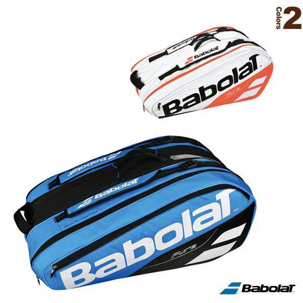 PURE LINE RACKET HOLDER X 12/ラケットバッグ/ピュアライン/ラケット12本収納可(BB751169/BB751170)《バボラ テニス バッグ》
