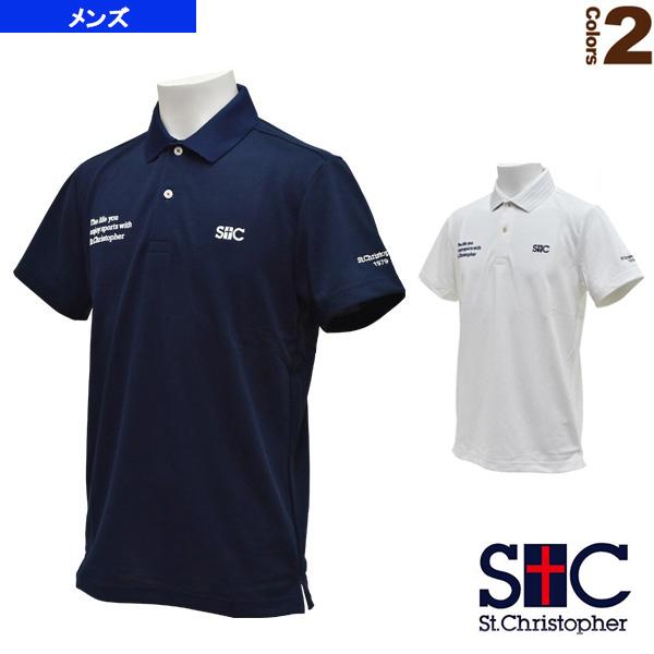 ライフスタイルポロシャツ/メンズ(STC-AGM0001)《セントクリストファー テニス・バドミントン ウェア(メンズ/ユニ)》