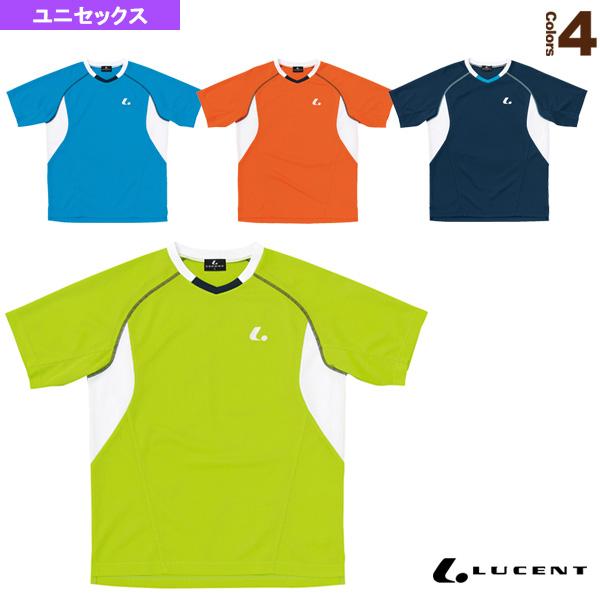 ゲームシャツ/襟なし/ユニセックス(XLH-303)《ルーセント テニス・バドミントン ウェア(メンズ/ユニ)》