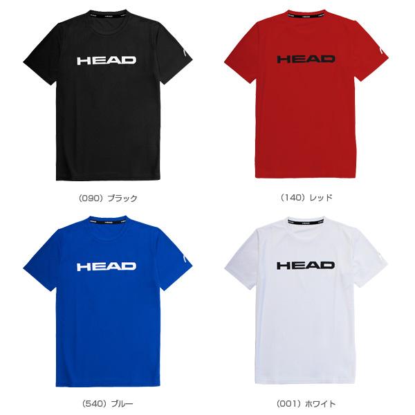 TEE SHIRT/Tシャツ/メンズ(0382014)《ヘッド テニス・バドミントン ウェア(メンズ/ユニ)》テニスウェア男性用|テニス・バドミントン  Luckpiece