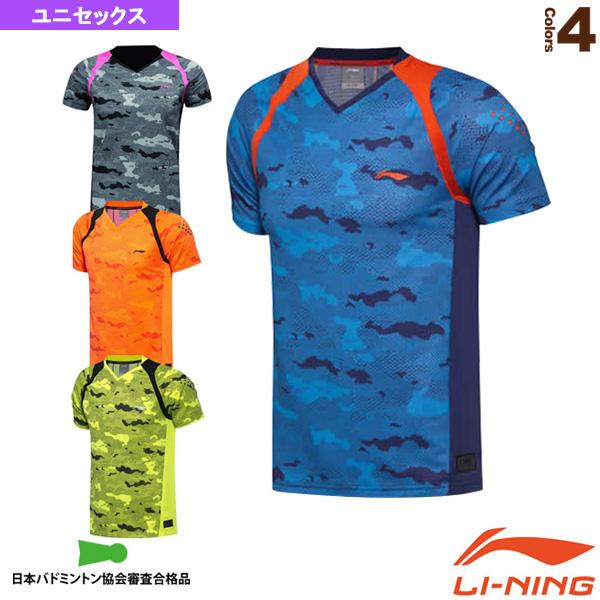 中国ナショナルチーム ゲームシャツ/ユニセックス(AAYM149)《リーニン テニス・バドミントン ウェア(メンズ/ユニ)》
