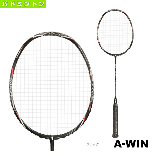SUPER POWER DX/重量ラケット/30ポンド対応(AW-SPDX)《A-WIN(アーウィン) バドミントン ラケット》