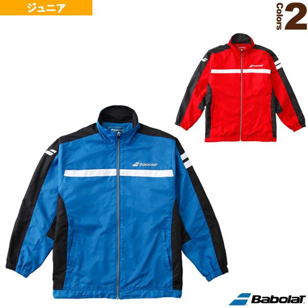 ウィンドジャケット/カラープレイライン/ジュニア(BTJMJK00)《バボラ テニス ジュニアグッズ》