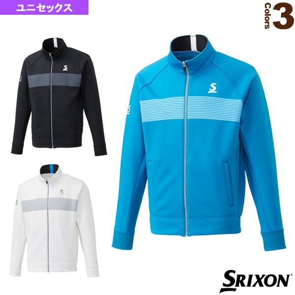 フリースジャケット/ツアーライン/ユニセックス(SDF-5841)《スリクソン テニス・バドミントン ウェア(メンズ/ユニ)》