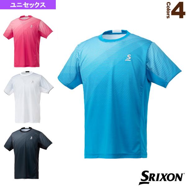 ゲームシャツ/ツアーライン/ユニセックス(SDP-1842)《スリクソン テニス・バドミントン ウェア(メンズ/ユニ)》テニスウェア男性用