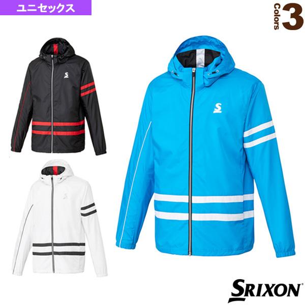 ウィンドジャケット/クラブライン/ユニセックス(SDW-4843)《スリクソン テニス・バドミントン ウェア(メンズ/ユニ)》