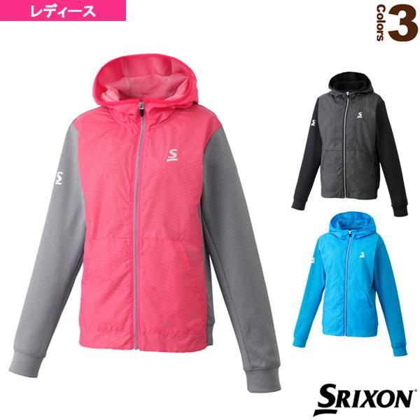 ハイブリッドジャケット/ツアーライン/レディース(SDW-4861W)《スリクソン テニス・バドミントン ウェア(レディース)》テニスウェア女性用