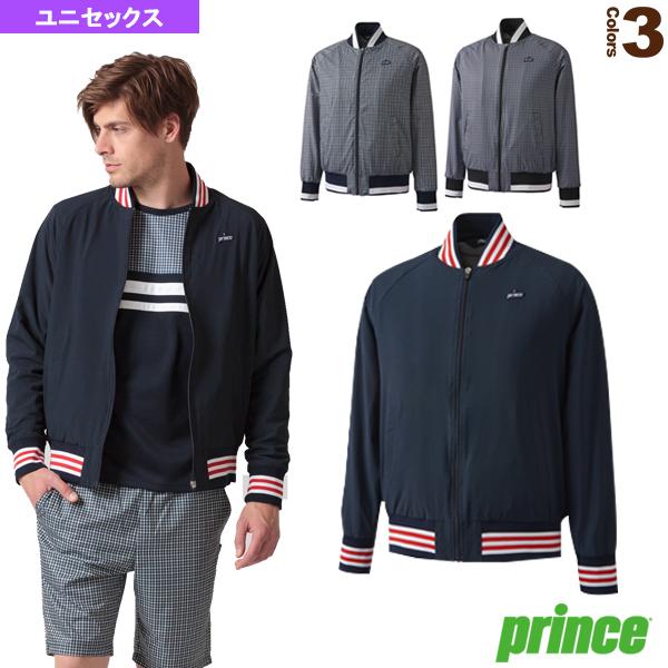 ジャケット/ユニセックス(WU8614)《プリンス テニス・バドミントン ウェア(メンズ/ユニ)》テニスウェア男性用