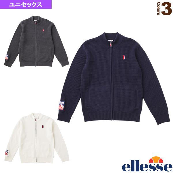 ヘリテージ エンブレムニットジャケット/Emblem Knit Jacket/ユニセックス(EH78301)《エレッセ テニス・バドミントン ウェア(メンズ/ユニ)》