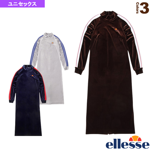 ヘリテージ ラインドベロアワンピース/Lined Velour One Piece/レディース(EHW38300)《エレッセ テニス・バドミントン ウェア(レディース)》