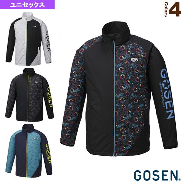 ウィンドウォーマージャケット(裏起毛)/ユニセックス(UY1800)《ゴーセン テニス・バドミントン ウェア(メンズ/ユニ)》