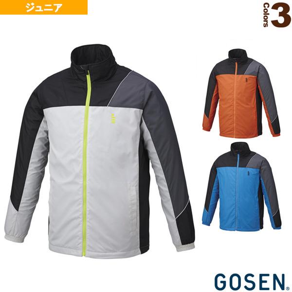 ウィンドウォーマージャケット(裏起毛)/ジュニア(Y1808)《ゴーセン テニス ジュニアグッズ》