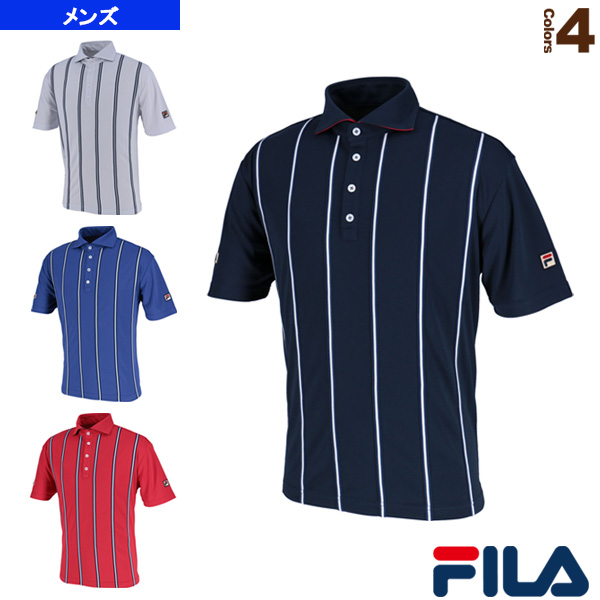 ポロシャツ/メンズ(VM5382)《フィラ テニス・バドミントン ウェア(メンズ/ユニ)》