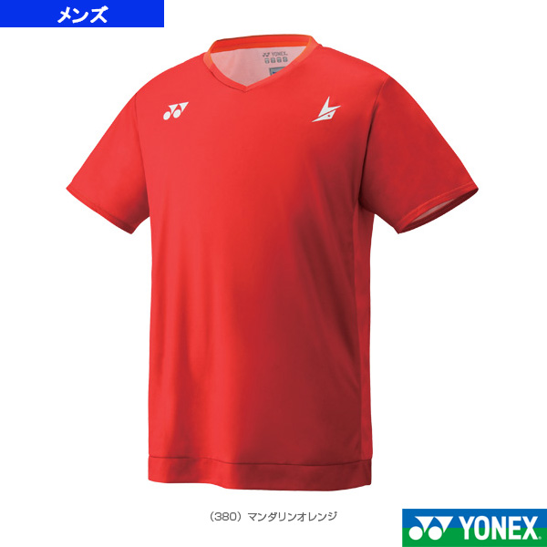 ゲームシャツ/フィットスタイル/リンダン限定モデル/メンズ(10295Y)《ヨネックス テニス・バドミントン ウェア(メンズ/ユニ)》