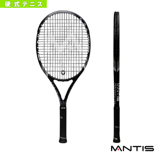 MANTIS Performa 260 Black/マンティス パフォーマ 260 ブラック(MNT-260BK)《マンティス テニス ラケット》