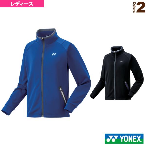 ニットウォームアップシャツ/レディース(58084)《ヨネックス テニス・バドミントン ウェア(レディース)》 テニス・バドミントン Luckpiece