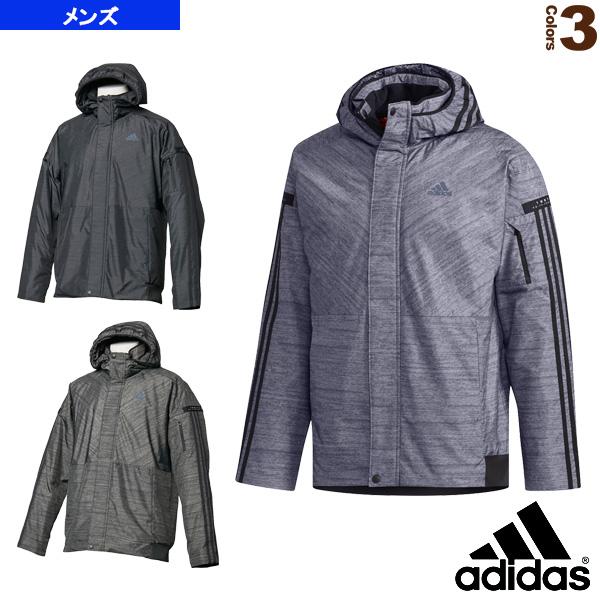 M adidas 24/7 中綿ウインドパーカー/メンズ(FKK30)《アディダス オールスポーツ ウェア(メンズ/ユニ)》