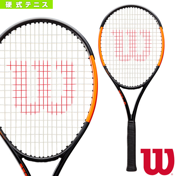 BURN 100S CV/バーン 100S CV(WR001011)《ウィルソン テニス ラケット》