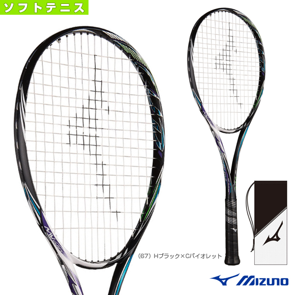 SCUD 01-C/スカッド 01-C(63JTN854)《ミズノ ソフトテニス ラケット》軟式(前衛向き)