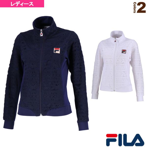トラックジャケット/レディース(VL1925)《フィラ テニス・バドミントン ウェア(レディース)》