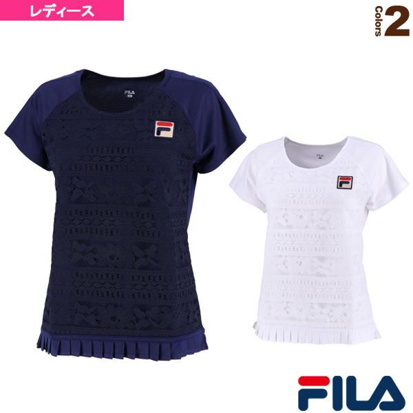 ゲームシャツ/レディース(VL1927)《フィラ テニス・バドミントン ウェア(レディース)》
