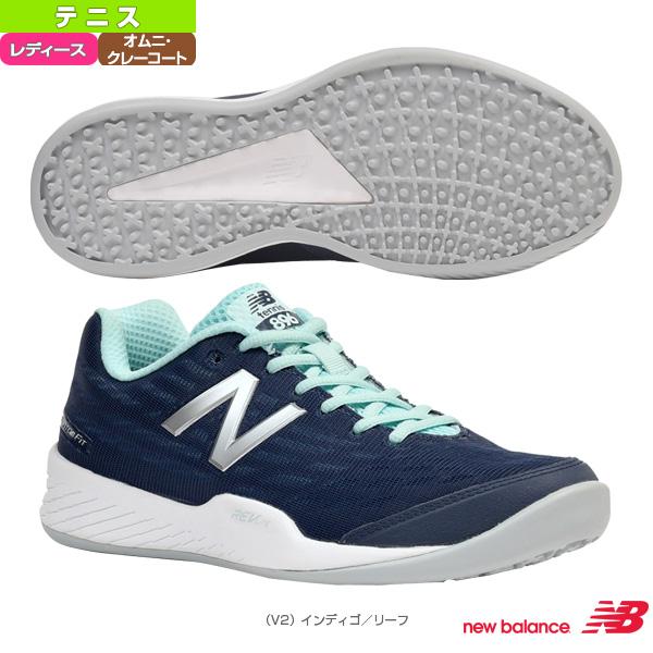 WCO896V2/D(標準)/オム二・クレーコート用/レディース(WCO896)《ニューバランス テニス シューズ》