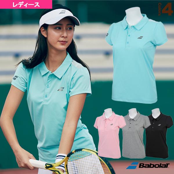 ショートスリーブシャツ/フラッグシップライン/レディース(BTWNJA03)《バボラ テニス・バドミントン ウェア(レディース)》
