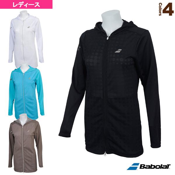 メッシュジャケット/フラッグシップライン/レディース(BTWNJK40)《バボラ テニス・バドミントン ウェア(レディース)》