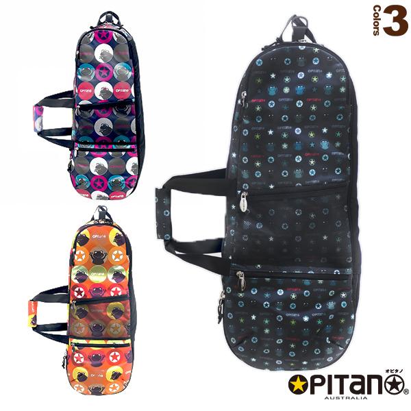 2019年04月下旬【予約】ラケットバッグ/ラケット2本収納可(OPT-12501)《オピタノ テニス バッグ》