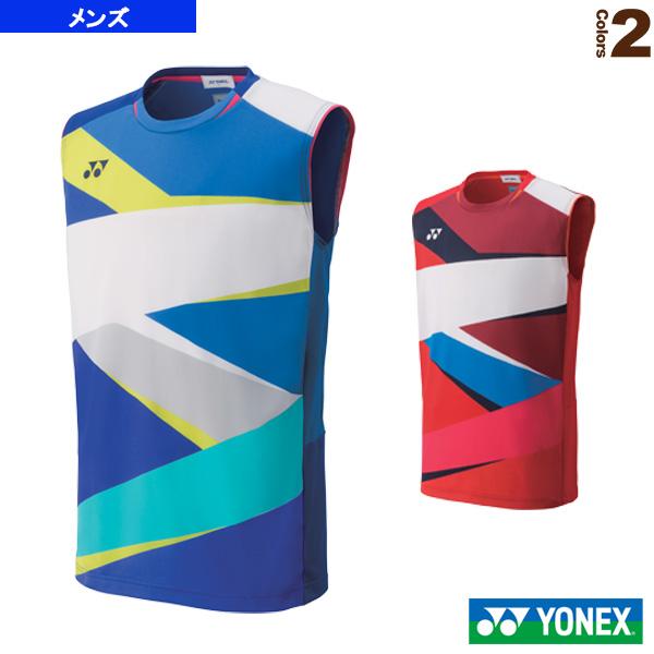 ゲームシャツ/ノースリーブ/フィットスタイル/メンズ(10310)《ヨネックス テニス・バドミントン ウェア(メンズ/ユニ)》
