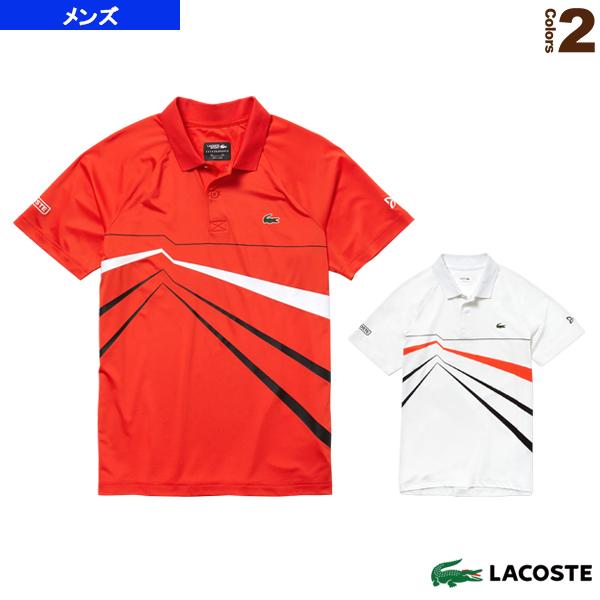 NOVAK DJOKOVIC/POLOS/ポロシャツ/半袖/メンズ(DH3382L)《ラコステ テニス・バドミントン ウェア(メンズ/ユニ)》LACOSTE