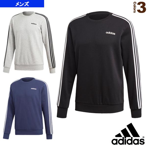 M CORE 3ストライプスクルーネックスウェット(裏毛)/メンズ(FSG37)《アディダス オールスポーツ ウェア(メンズ/ユニ)》
