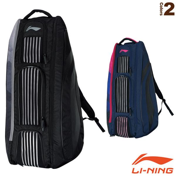 ラケットバックパック6/ラケット6本収納可(ABJN058)《リーニン バドミントン バッグ》