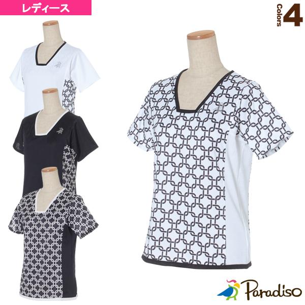 半袖ゲームシャツ/レディース(QCL71A)《パラディーゾ テニス・バドミントン ウェア(レディース)》