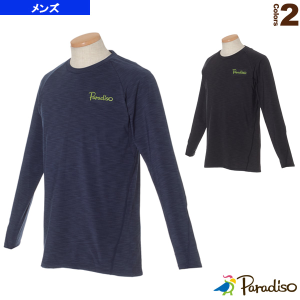 長袖ゲームシャツ/メンズ(QCM04F)《パラディーゾ テニス・バドミントン ウェア(メンズ/ユニ)》