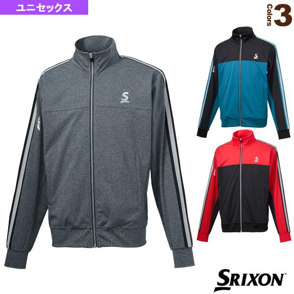 スムースジャケット/ツアーライン/ユニセックス(SDF-5940)《スリクソン テニス・バドミントン ウェア(メンズ/ユニ)》