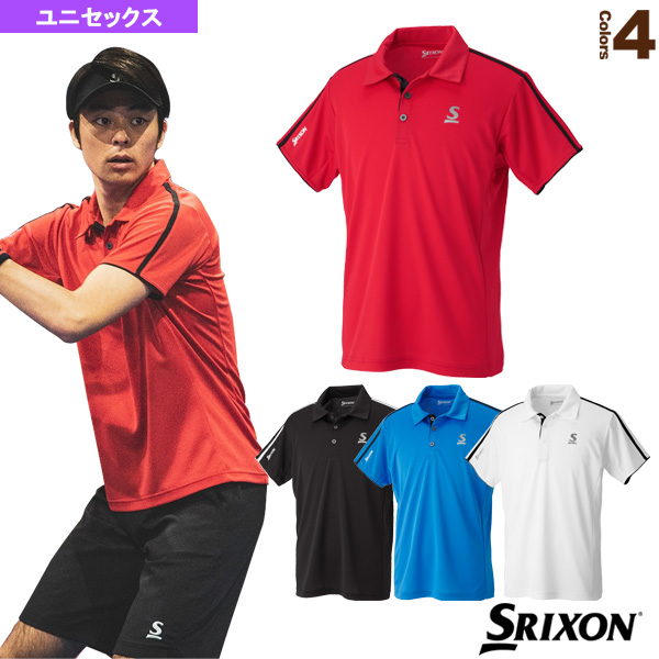 ポロシャツ/クラブライン/ユニセックス(SDP-1945)《スリクソン テニス・バドミントン ウェア(メンズ/ユニ)》