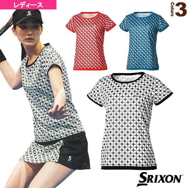 ゲームシャツ/ツアーライン/レディース(SDP-1964W)《スリクソン テニス・バドミントン ウェア(レディース)》