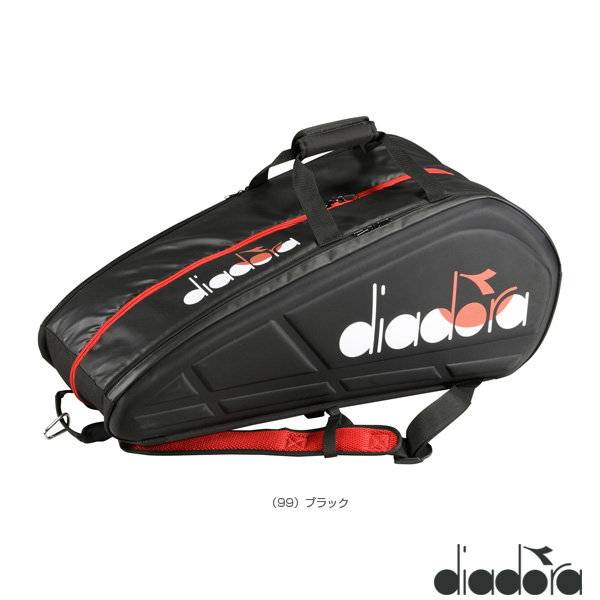 teamラケットバッグ 9(DTB9680)《ディアドラ テニス バッグ》